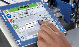 Videojet 8510 Thermal InkJet Printer, barcode label printer, barcode printing, inkjet batch coding machine