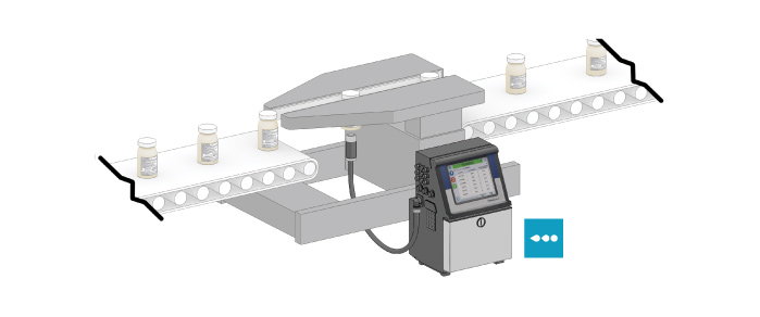 Line Integration of Videojet Printers with Sidegrip Conveyor