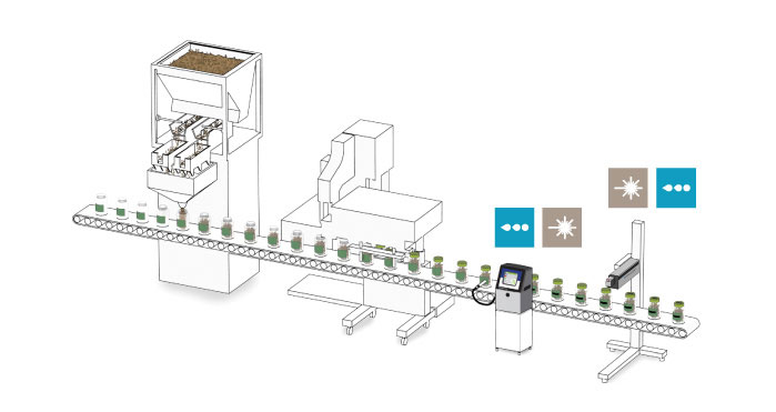 Integration with Vertical Filling Line in Salty Snacks Industry
